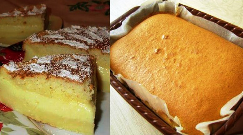 Самое умное и очень вкусное пирожное
