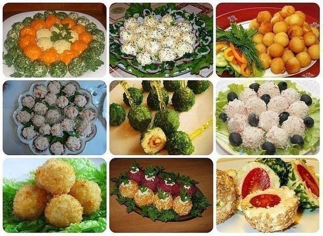 9 супер-закусок в виде шариков!