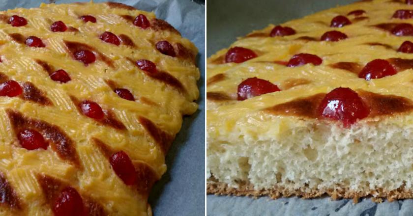 Восхитительный испанский пирог