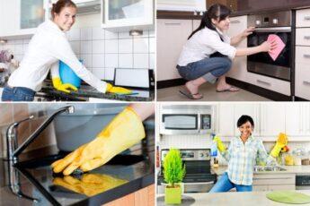 Как помыть кухню от жира и грязи – 11 рецептов для разных поверхностей