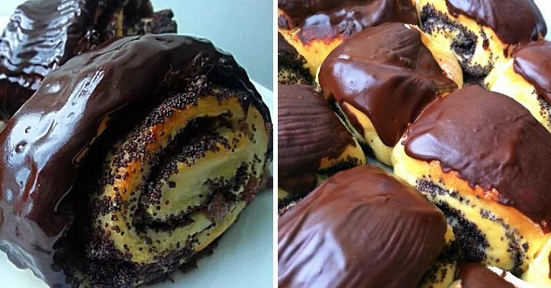 Потрясающе вкусные булочки с маком