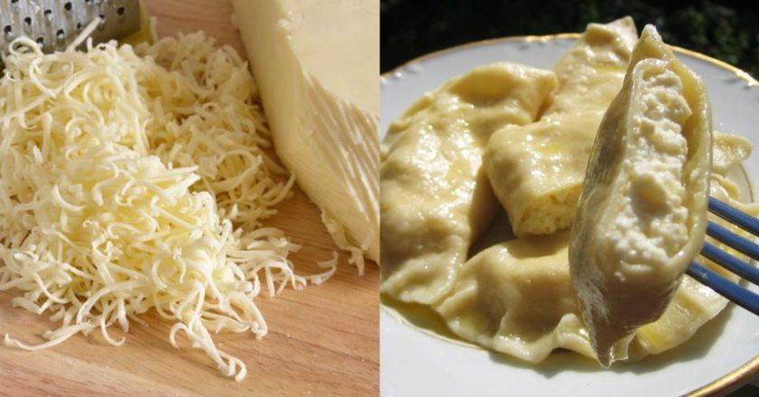 Аппетитные вареники с адыгейским сыром