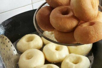 Это самые вкусные пончики, которые я ела!