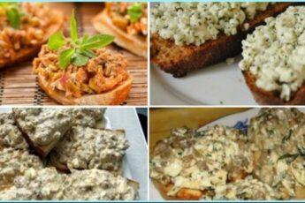 Эти аппетитнейшие бутерброды порадуют вас своим вкусом и утолят чувство голода.