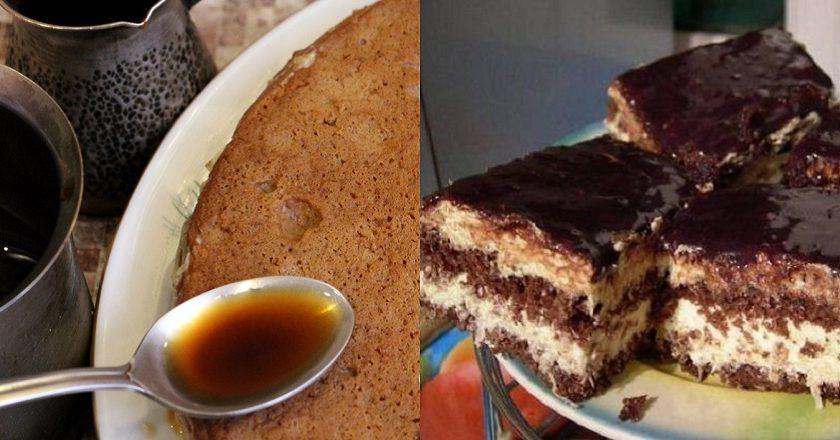 Бесподобный кофейный тортик
