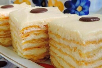 Заварной торт «РАЙСКОЕ БЛАЖЕНСТВО»
