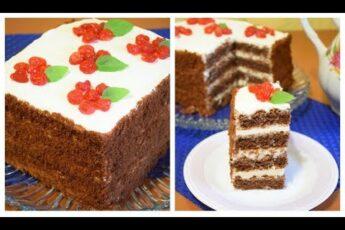 ОБАЛДЕННЫЙ торт 2 кг За 30 минут ✧ БЕЗ ПЕЧЕНЬЯ !!!