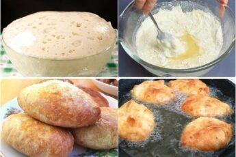 Потратьте 5 минут и приготовьте это дрожжевое тесто. Готовить из него можно пирожки с любой начинкой, булочки, беляши, сосиски в тесте, пироги, пиццу...