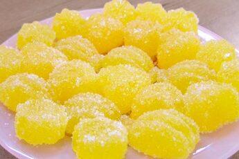 Лимонный МАРМЕЛАД: полезнее лакомства не найти!