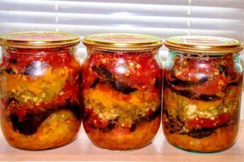 Вкусные БАКЛАЖАНЫ на зиму! Медово-томатная заливка