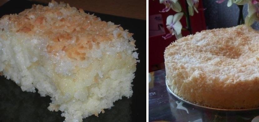 Этот кокосовый пирог просто тает во рту!Очень вкусно!
