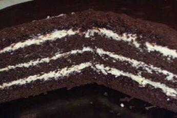 Торт ШОКОЛАД на КИПЯТКЕ готовится очень быстро, в духовом шкафу растет прямо на глазах