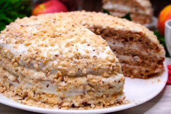 Торт «ВКУСНО, вкусно и еще раз ВКУСНО»