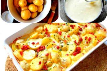 Картофель а-ля «КАРБОНАРА»: это блюдо готовится очень БЫСТРО и никогда не надоедает!