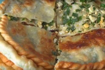 Гошнан с джусаем и яйцом — вкусное блюдо, которое не надоест