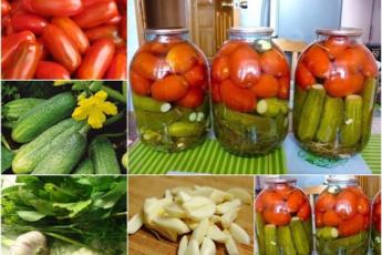 Солим томаты вместе с огурцами Вкусное ассорти обязательно понравится вашим близким.