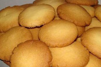 Простой рецепт вкусного песочного печенья