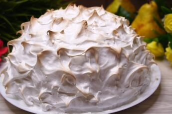 """Такой Торт я готовлю Всегда на день рождения. Торт """"Аляска"""""""