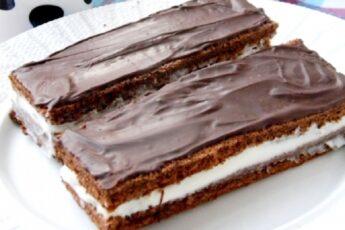 Пирожное а-ля «Киндер молочный ломтик»: натуральный и полезный десерт