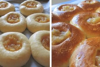Домашние ватрушки с яблочным вареньем: проверенный рецепт!