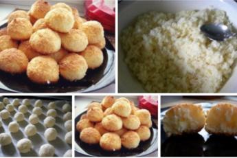 Для любителей кокосовой выпечки!!! Очень вкусное печенье! Ни грамма муки!!! Хрустящая корочка и нежное внутри!