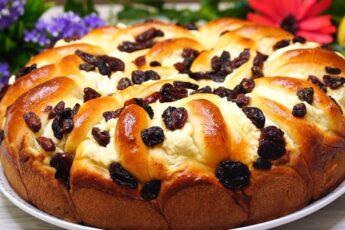 Пирог «Полный Восторг». Тесто как Пух, с ним справится любая хозяйка!