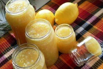 Лимонный джем