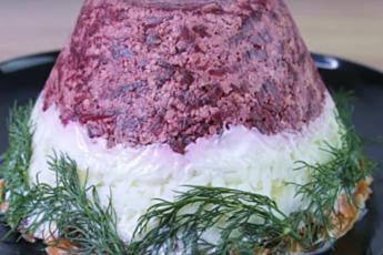 Превосходный салат «Айсберг» к праздничному столу