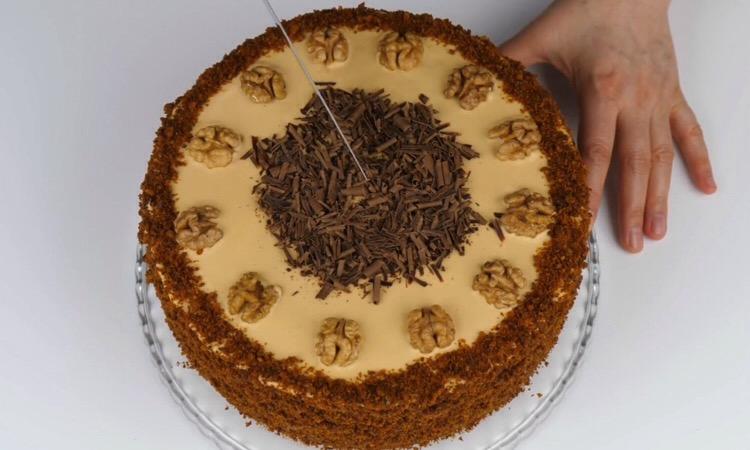 Нежный медовый торт «Домашний»: пошаговый рецепт приготовления