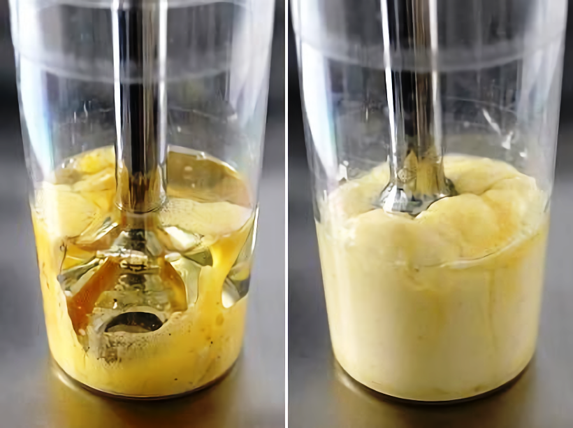 майонез домашний рецепт с фото пошагово блендером кулич