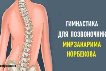 Гимнастика для позвоночника Мирзакарима Норбекова