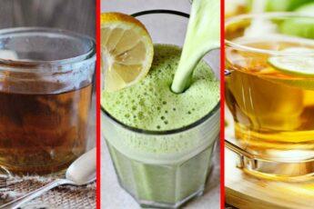 ЭТИ 3 Напитка «УНИЧТОЖАТ» Все МИОМЫ и КИСТЫ Всего За МЕСЯЦ!