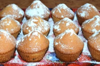 Рецепт ароматных кексов за 15 минут