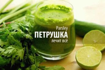 Лечение травами - Петрушка