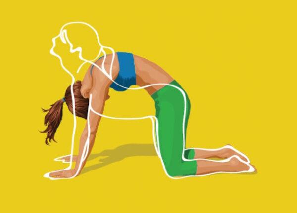 4 упражнения от обвисшего живота: Помогают на 200%