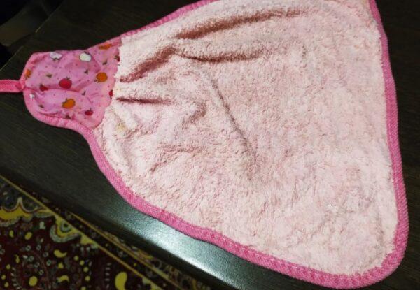 Кухонные полотенца стираю в микроволновке от жирных пятен и запаха